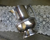 National Silver on Copper Water Pitcher