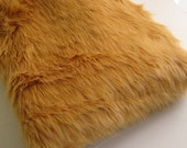 Long Pile Caramel Fur fabric