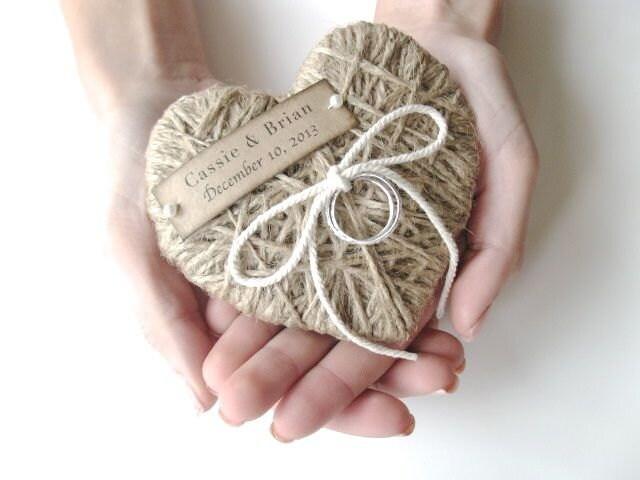 ring bearer pillow reuse as christmas ornament wedding ring pillow wedding ring bearer - Wedding Ring Pillow