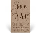 Custom Wedding Stamp   Save the Date Stamp   Custom Rubber Stamp   Custom Stamp   Personalized Stamp   Elegant Save the Date   D9
