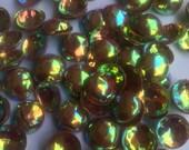 3D Glittering Rainbow Pastel Pink Sequins/ KBRS031