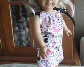 "Barbie Poodles 18"" Doll - American Girl - Pillowcase Dress"