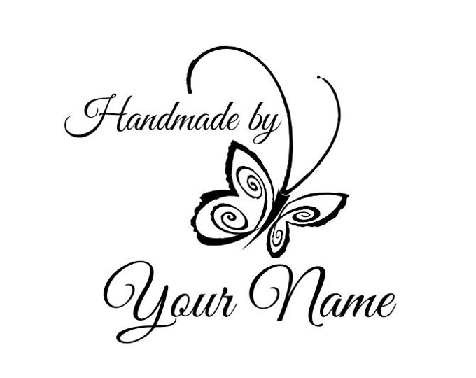 Personalized Custom Made Unmounted Rubber Stamps C09