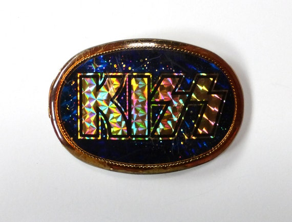 Chevy Belt Buckles >> Kiss Belt Buckle Vintage 1970s Band by purevintageclothing ...