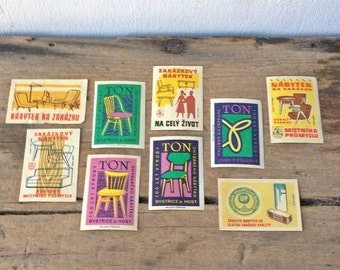Vintage Matchbox Covers