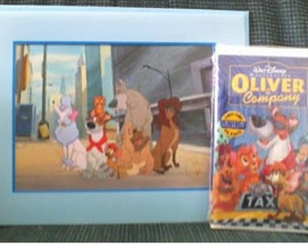 Vintage Disney Collectible Oliver and Company