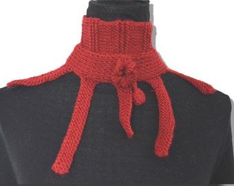 Red Neckwarmer