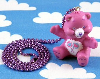 Care Bears Necklace Share Bear
