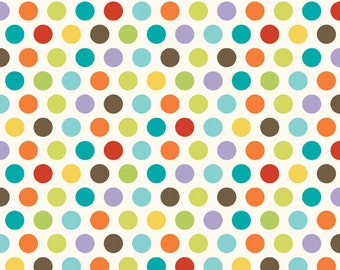 Good Life Dots in Multi by Deena Rutter for Riley Blake Designs - 1 Yard