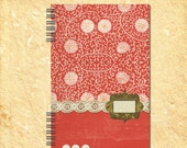 Daily Weekly 2014 Calendar Planner - Red Explosion