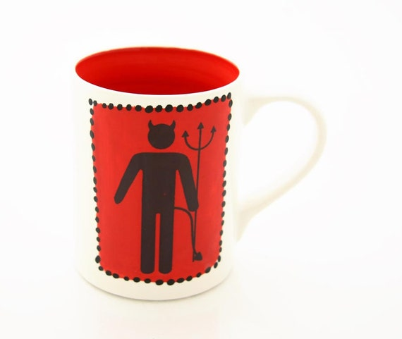 Handsome Devil Halloween mug on sale