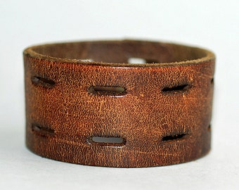 """7.5"""" long, leather bracelet blank, jewelry, accessories, coolvintage, collectibles, gorgeous, looks great, unique, T 17"""