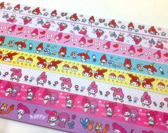 Lucky Star Origami Paper Gift Pack -Melody and Friends - Super Kawaii - Great DIY gift