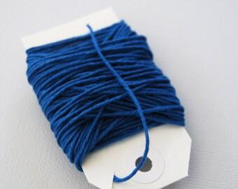 Solid Denim Blue Twine 15 yards