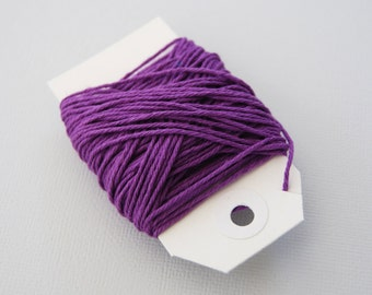 Solid Purple Twine 15 yards