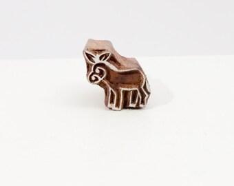 Wood Stamp donkey 50b
