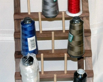 Wooden Surger Thread Holder