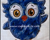 Neighborly Owl Applique and Fill(4by4 only) Embroidery Design