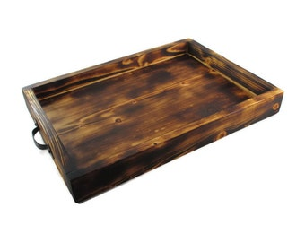 Rustic Serving Tray - Lodge Decor - Wood Trays