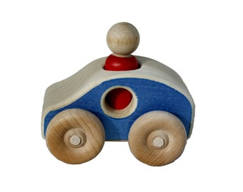 Wooden Toy Car - The Eco-Friendly  Hybrid