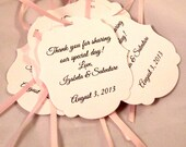 Wedding Favor Tags Set of 25