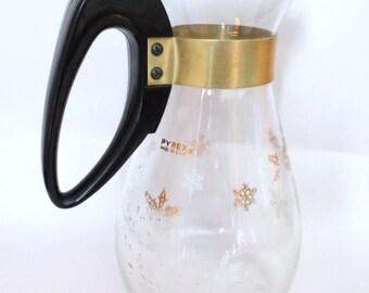 Pyrex Coffee Carafe- Atomic snowflake coffee pot