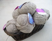 Wool / Acrylic Yarn - 10 Skeins of 50g - Good for  Knitting projects, Crochet projects, Craft projects