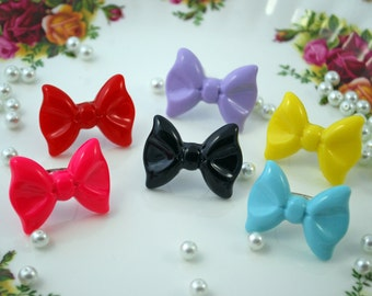 Large Bow Ring ~ Many Colors!