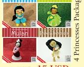 Pattern Deal - 4 Princesses Package