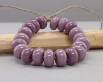 25 % off - 20 Spacer - Handmade Lampwork Beads - S 61