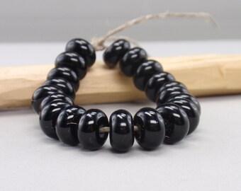 25 % off - 20 Spacer - Handmade Lampwork Beads - S 38