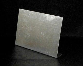 "DIY Display Metal Board, DIY Desktop Magnet Board, Unfinished, 12"" x 11"", Rustic Wedding Decor, Tabletop Decor,  Craft Show Display"