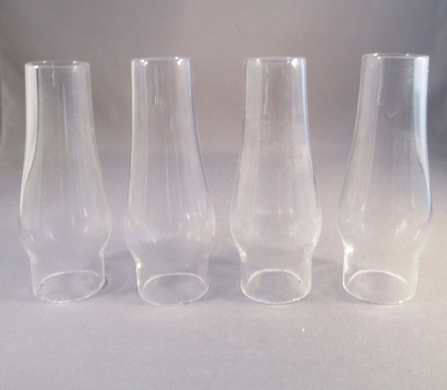 4 Mini Hurricane Lamp Glass Replacement Or Craft Hurricane