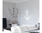 Anchor Wall Art Stencil -Medium Size - Reusable Stencils - DIY Home Décor - Easy DIY