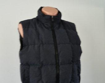 Vintage Vest by Northwest Territory Ski Puffy Winter Faded Black Hiking Outdoors Winter gray Grey Ladies Medium Large