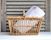 antique french country basket