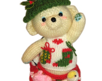 CHRISTMAS EVE Pdf Email Knit PATTERN