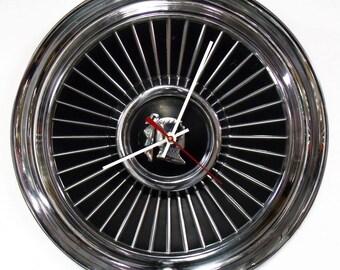 1958 Dodge Royal Lancer Hubcap Clock - 1950's Mopar Classic Car Hub Cap