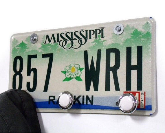 Mississippi Coat Rack Ms Hat Rack From Recycled By Starlingink