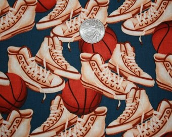 Riley Blake Sports Fabric-Baseball, Basketball, and Football