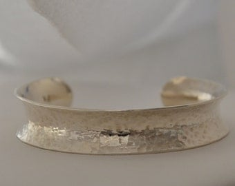 The Valley Sterling Silver Cuff, Handmade in Maine