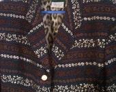 Jean Paul Gaultier coat jacket black boho bohemian