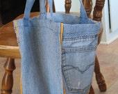 Lunch Bag - Denim - FREE Shipping Domestically
