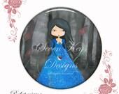 Snow white -pocket mirror
