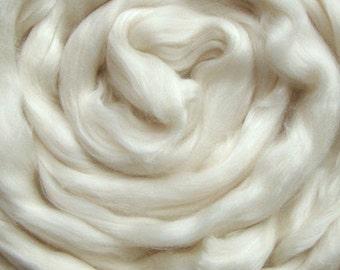 2 oz Merino/Tencel 50/50 Blend White 18.5 m