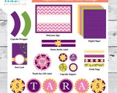 Rapunzel Printable Party Package