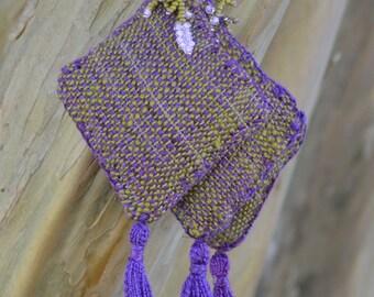 Lavender Sachet Handwoven
