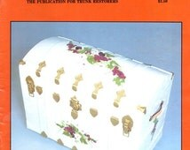 Trunk Talk Number 3 Learn How to Restore Decorate Steamer Travel Trunks Clean Reline Lid Support Hinges Craft Magazine May 1983