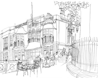 Bespoke Illustration - Wedding Venues, Homes