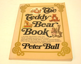 The Teddy Bear Book By Peter Bull Vintage Book